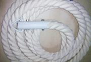 Канат лазания  х/б,  любого размера и диаметра- от производителя